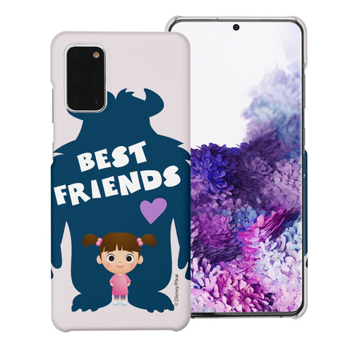 Galaxy Note20 Case (6.7inch) [Slim Fit] Monsters University inc Thin Hard Matte Surface Excellent Grip Cover - Simple Boo