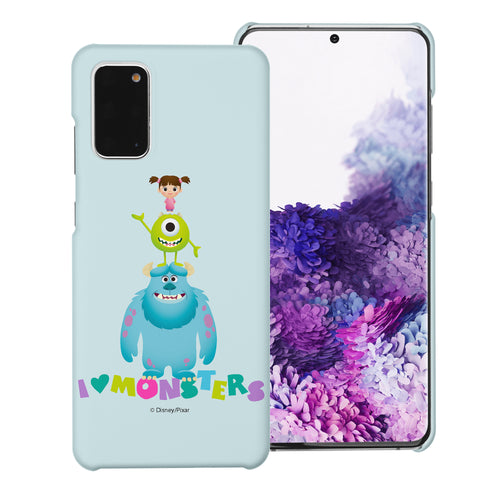 Galaxy Note20 Case (6.7inch) [Slim Fit] Monsters University inc Thin Hard Matte Surface Excellent Grip Cover - Simple Together