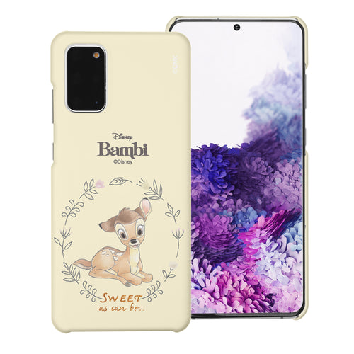Galaxy Note20 Case (6.7inch) [Slim Fit] Disney Bambi Thin Hard Matte Surface Excellent Grip Cover - Full Bambi