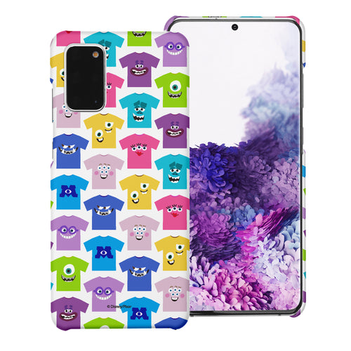 Galaxy Note20 Case (6.7inch) [Slim Fit] Monsters University inc Thin Hard Matte Surface Excellent Grip Cover - Pattern Shirts