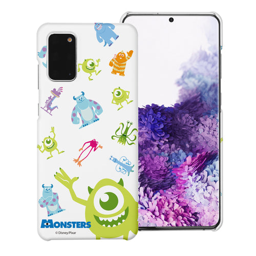 Galaxy Note20 Case (6.7inch) [Slim Fit] Monsters University inc Thin Hard Matte Surface Excellent Grip Cover - Pattern Monsters