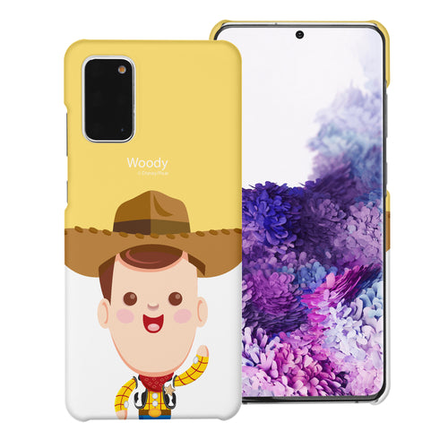 Galaxy Note20 Case (6.7inch) [Slim Fit] Toy Story Thin Hard Matte Surface Excellent Grip Cover - Baby Woody
