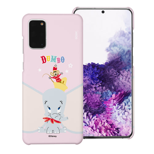 Galaxy S20 Case (6.2inch) [Slim Fit] Disney Dumbo Thin Hard Matte Surface Excellent Grip Cover - Dumbo Overhead