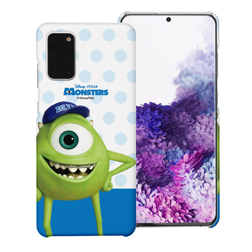 Galaxy Note20 Case (6.7inch) [Slim Fit] Monsters University inc Thin Hard Matte Surface Excellent Grip Cover - Movie Mike