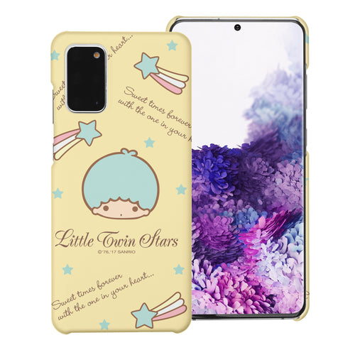 Galaxy S20 Ultra Case (6.9inch) [Slim Fit] Sanrio Thin Hard Matte Surface Excellent Grip Cover - Icon Little Twin Stars Kiki
