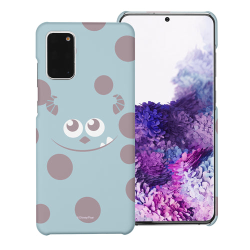 Galaxy Note20 Case (6.7inch) [Slim Fit] Monsters University inc Thin Hard Matte Surface Excellent Grip Cover - Face Sulley