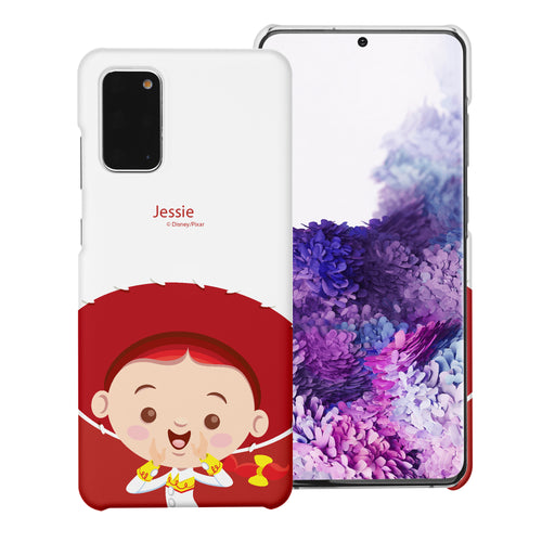 Galaxy Note20 Case (6.7inch) [Slim Fit] Toy Story Thin Hard Matte Surface Excellent Grip Cover - Baby Jessie