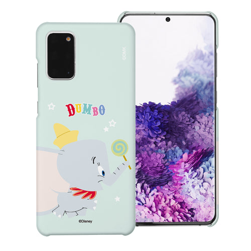 Galaxy S20 Case (6.2inch) [Slim Fit] Disney Dumbo Thin Hard Matte Surface Excellent Grip Cover - Dumbo Candy