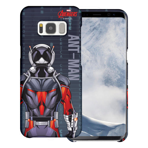 Galaxy S6 Case (5.1inch) Marvel Avengers [Slim Fit] Thin Hard Matte Surface Excellent Grip Cover - Back Ant Man