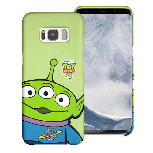 Galaxy S8 Plus Case [Slim Fit] Toy Story Thin Hard Matte Surface Excellent Grip Cover - Wide Alien