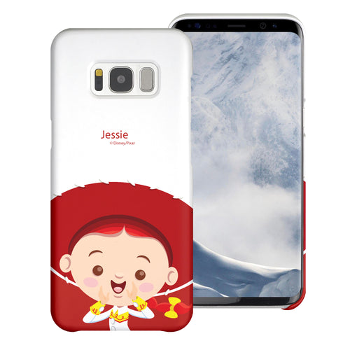 Galaxy S8 Plus Case [Slim Fit] Toy Story Thin Hard Matte Surface Excellent Grip Cover - Baby Jessie