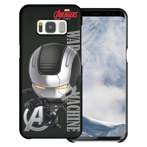 Galaxy S6 Case (5.1inch) Marvel Avengers [Slim Fit] Thin Hard Matte Surface Excellent Grip Cover - Mini War Machine