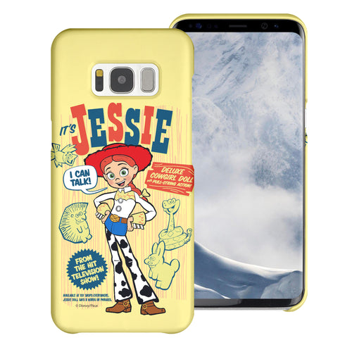 Galaxy S8 Plus Case [Slim Fit] Toy Story Thin Hard Matte Surface Excellent Grip Cover - Full Jessie