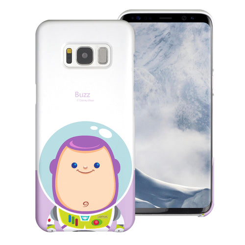 Galaxy S8 Plus Case [Slim Fit] Toy Story Thin Hard Matte Surface Excellent Grip Cover - Baby Buzz