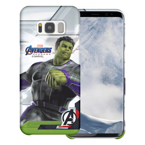 Galaxy S6 Edge Case Marvel Avengers [Slim Fit] Thin Hard Matte Surface Excellent Grip Cover - End Game Hulk