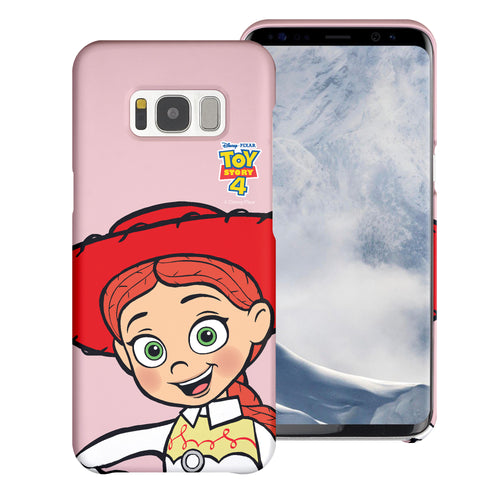 Galaxy S8 Plus Case [Slim Fit] Toy Story Thin Hard Matte Surface Excellent Grip Cover - Wide Jessie