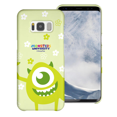 Galaxy S8 Plus Case [Slim Fit] Monsters University inc Thin Hard Matte Surface Excellent Grip Cover - Full Mike