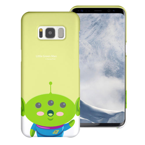 Galaxy S8 Plus Case [Slim Fit] Toy Story Thin Hard Matte Surface Excellent Grip Cover - Baby Alien