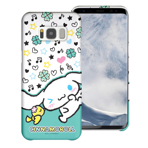 Galaxy S6 Edge Case [Slim Fit] Sanrio Thin Hard Matte Surface Excellent Grip Cover - Kiss Cinnamoroll