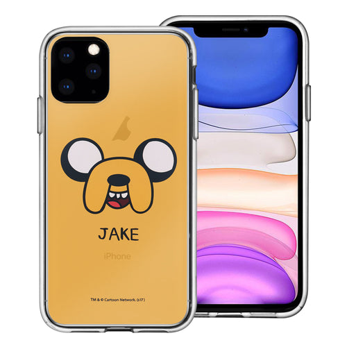 iPhone 11 Pro Max Case (6.5inch) Adventure Time Clear TPU Cute Soft Jelly Cover - Face Jake