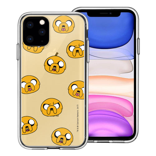 iPhone 11 Pro Max Case (6.5inch) Adventure Time Clear TPU Cute Soft Jelly Cover - Pattern Jake