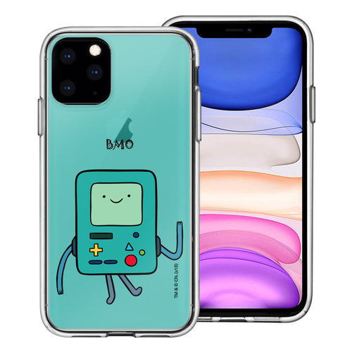 iPhone 11 Pro Max Case (6.5inch) Adventure Time Clear TPU Cute Soft Jelly Cover - Lovely BMO