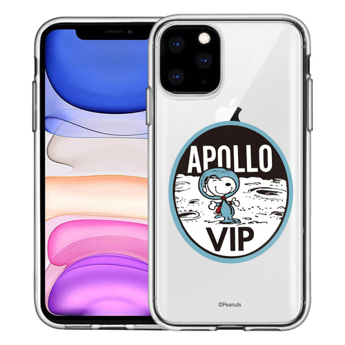 iPhone 12 mini Case (5.4inch) PEANUTS Clear TPU Cute Soft Jelly Cover - Apollo VIP