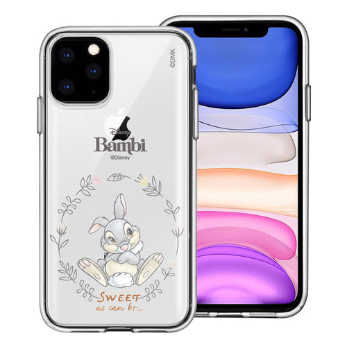 iPhone 12 mini Case (5.4inch) Disney Clear TPU Cute Soft Jelly Cover - Full Thumper