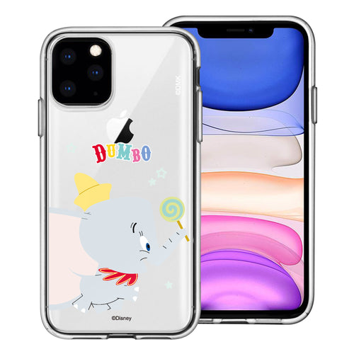 iPhone 11 Pro Max Case (6.5inch) Disney Clear TPU Cute Soft Jelly Cover - Dumbo Candy