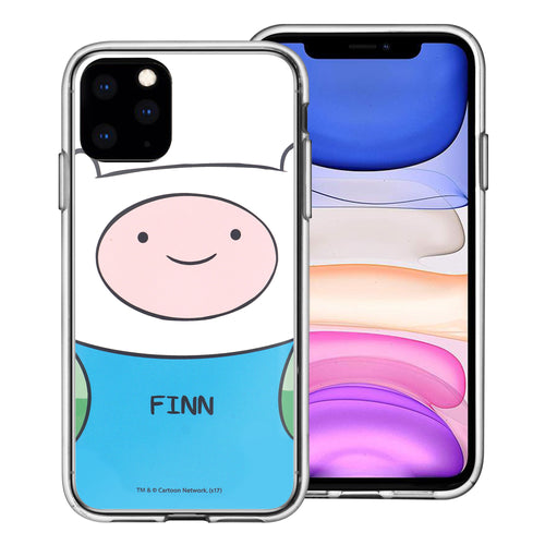 iPhone 12 mini Case (5.4inch) Adventure Time Clear TPU Cute Soft Jelly Cover - Face Finn Mertens