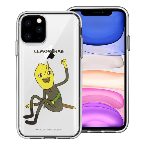 iPhone 11 Pro Max Case (6.5inch) Adventure Time Clear TPU Cute Soft Jelly Cover - Full Lemongrab