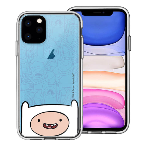 iPhone 12 mini Case (5.4inch) Adventure Time Clear TPU Cute Soft Jelly Cover - Pattern Finn Big