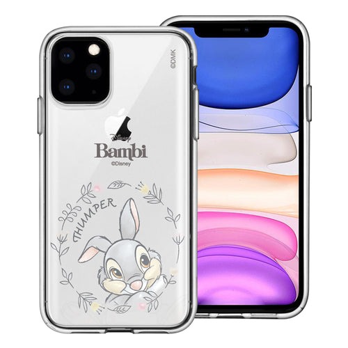 iPhone 12 mini Case (5.4inch) Disney Clear TPU Cute Soft Jelly Cover - Face Thumper