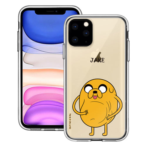 iPhone 11 Pro Max Case (6.5inch) Adventure Time Clear TPU Cute Soft Jelly Cover - Lovely Jake