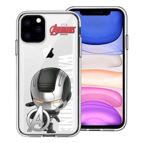 iPhone 12 Pro / iPhone 12 Case (6.1inch) Marvel Avengers Soft Jelly TPU Cover - Mini War Machine
