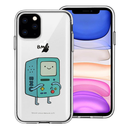 iPhone 11 Pro Max Case (6.5inch) Adventure Time Clear TPU Cute Soft Jelly Cover - Full BMO