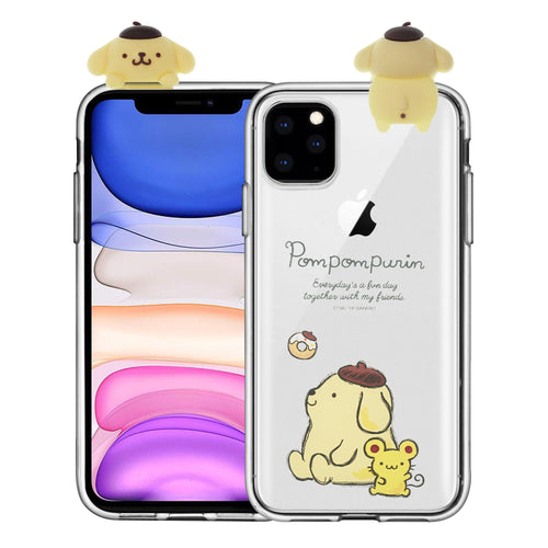 iPhone 11 Case (6.1inch) Pompompurin Cute Figure Doll Soft Jelly Cover for - Figure Pompompurin