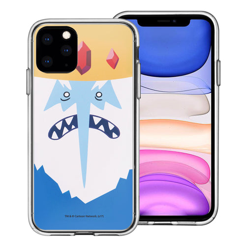iPhone 11 Pro Max Case (6.5inch) Adventure Time Clear TPU Cute Soft Jelly Cover - Face Ice King
