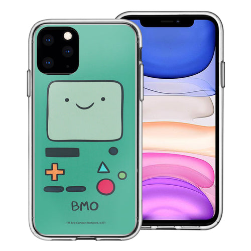 iPhone 11 Pro Max Case (6.5inch) Adventure Time Clear TPU Cute Soft Jelly Cover - Face Beemo (BMO)
