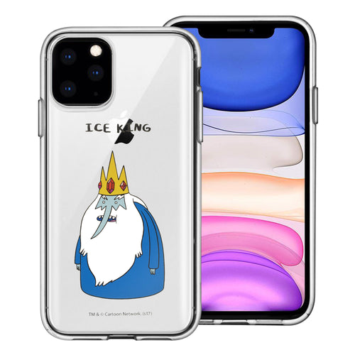 iPhone 11 Pro Max Case (6.5inch) Adventure Time Clear TPU Cute Soft Jelly Cover - Full Ice King