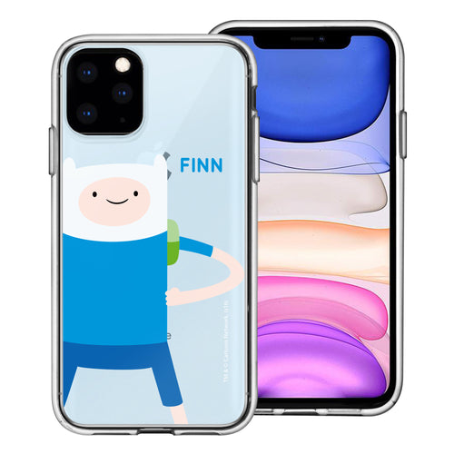 iPhone 12 mini Case (5.4inch) Adventure Time Clear TPU Cute Soft Jelly Cover - Cuty Finn