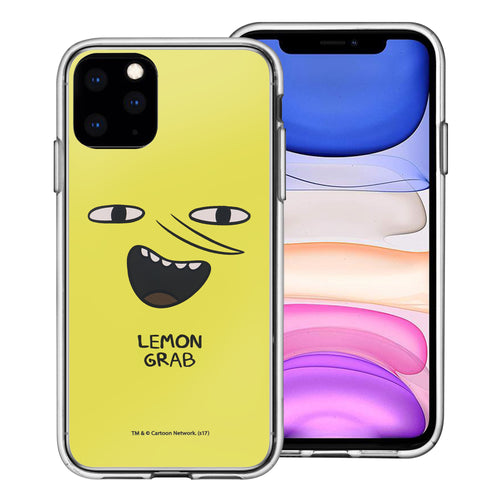 iPhone 11 Pro Max Case (6.5inch) Adventure Time Clear TPU Cute Soft Jelly Cover - Face Lemongrab