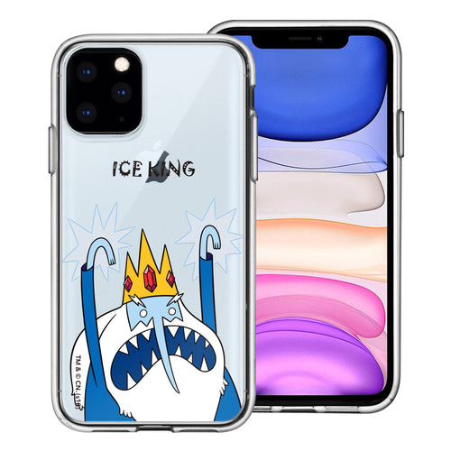 iPhone 11 Pro Max Case (6.5inch) Adventure Time Clear TPU Cute Soft Jelly Cover - Lovely Ice King