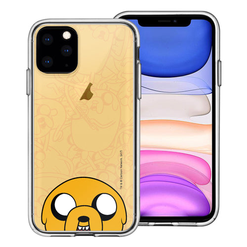 iPhone 11 Pro Max Case (6.5inch) Adventure Time Clear TPU Cute Soft Jelly Cover - Pattern Jake Big