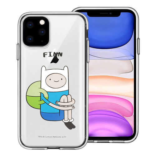 iPhone 12 mini Case (5.4inch) Adventure Time Clear TPU Cute Soft Jelly Cover - Full Finn