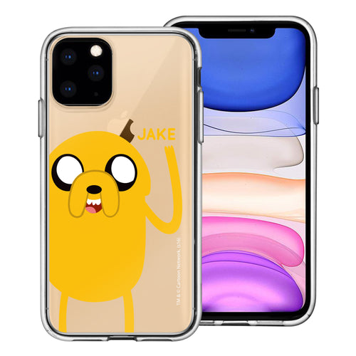 iPhone 11 Pro Max Case (6.5inch) Adventure Time Clear TPU Cute Soft Jelly Cover - Cuty Jake