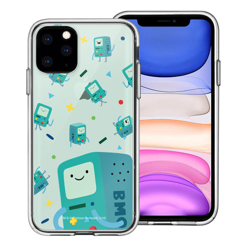 iPhone 11 Pro Max Case (6.5inch) Adventure Time Clear TPU Cute Soft Jelly Cover - Cuty Pattern BMO
