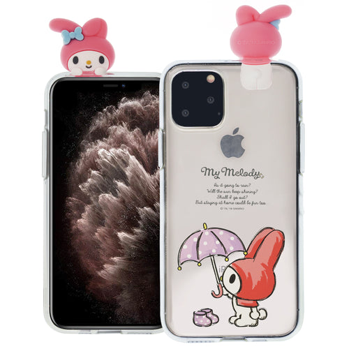 iPhone 12 mini Case (5.4inch) My Melody Cute Figure Doll Soft Jelly Cover for - Figure My Melody