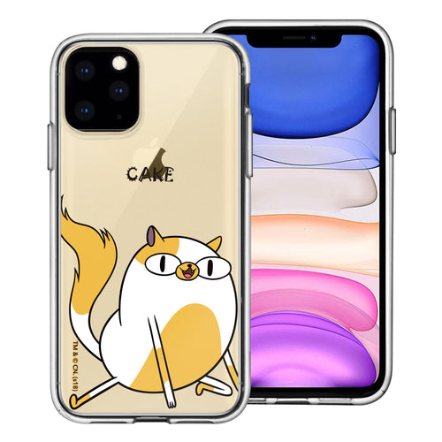 iPhone 11 Pro Max Case (6.5inch) Adventure Time Clear TPU Cute Soft Jelly Cover - Lovely Cake