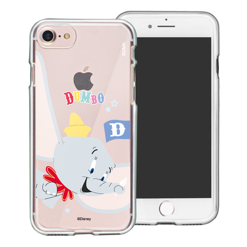 iPhone 6S Plus / iPhone 6 Plus Case Disney Clear TPU Cute Soft Jelly Cover - Dumbo Fly